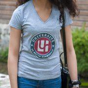 T-shirt gris institutionnel – Université de Rouen Normandie