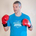 T-shirt homme bleu sport