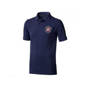 Polo homme bleu gamme institutionnelle